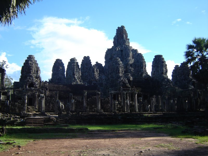 Above: This is Bayon, the state-temple of Jayavarman VII and just as impressive as Angkor Wat.