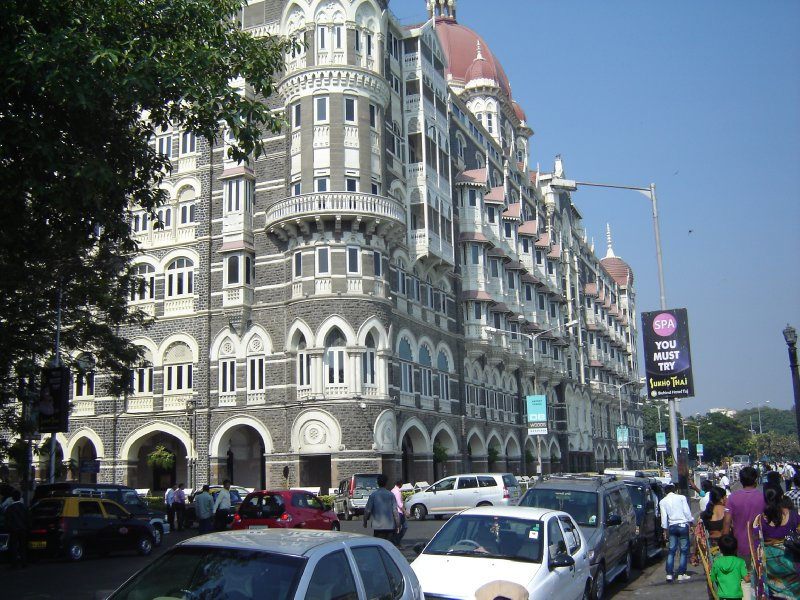 Above: The magnificent Taj Mahal Hotel