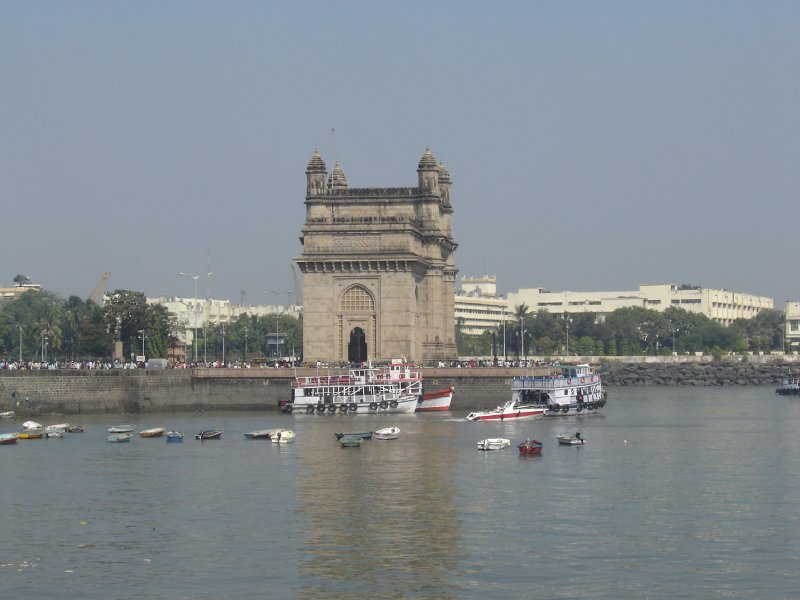 Above: The Gateway of India, Mumbai