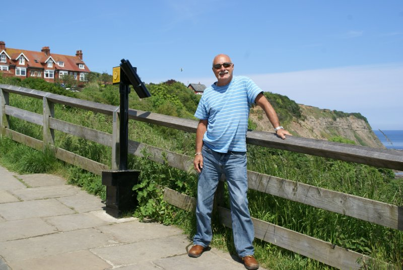 Me at Robin Hoods Bay