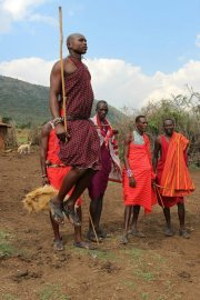 The ever famous Masai tribe