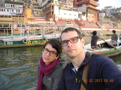 Bootsfahrt in Varansi