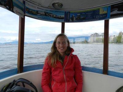 Met de ferry naar Vanier Park