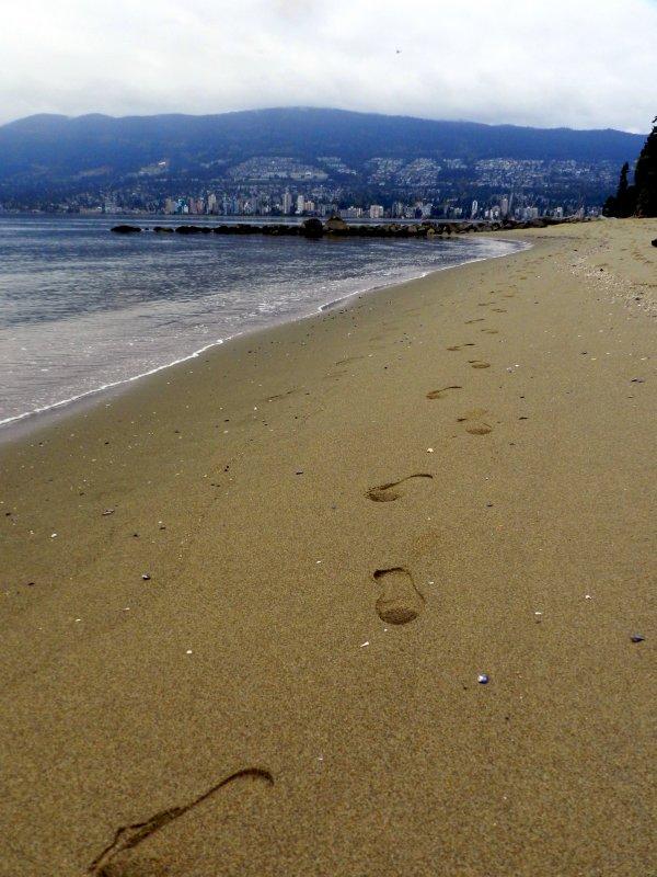 Stanley Park: uitzicht op North Vancouver