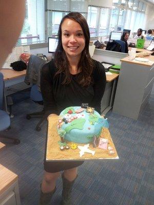 Jen's Leaving Cake!