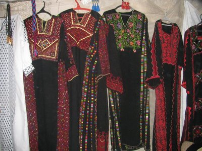 Dresses in the Women's Coop in At Tuwani