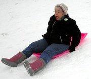 me sledding