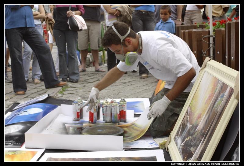street painter