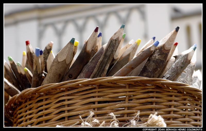 recicled pencils