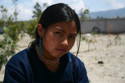 Girl at Malchingui School