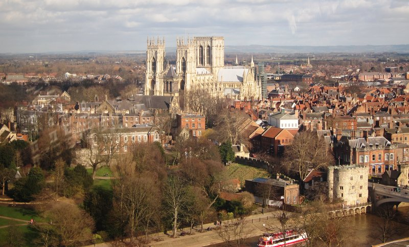 York Minster from The Eye