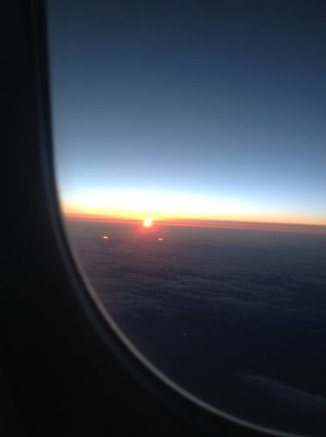 Sunset on my flight home