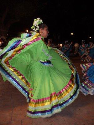 Dancing in Progreso