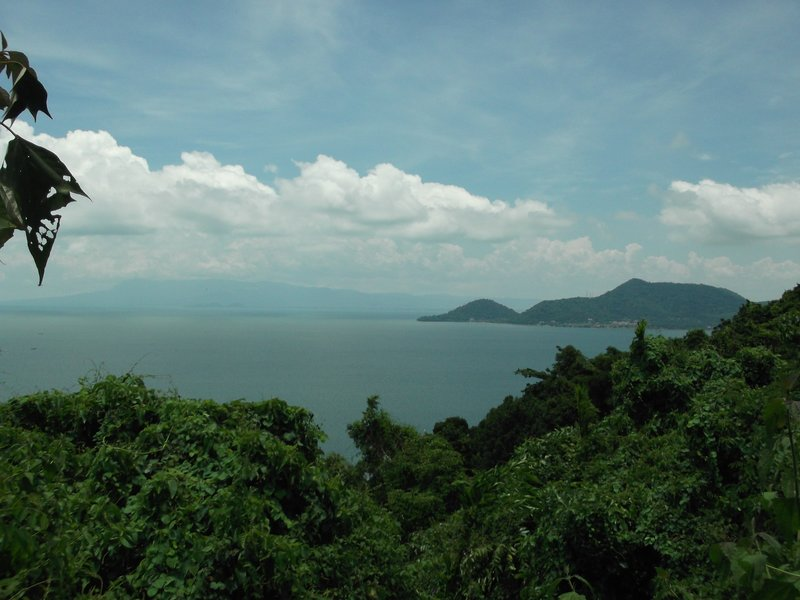 View over Rabbit Island (Koh Tonsay)
