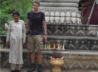 me with the Witch of Kampot