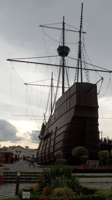 The mighty replica ship