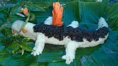 Vegetarian crocodile???