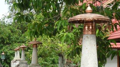 The peaceful garden