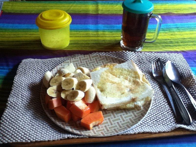 Homestay breakfast .... nom,nom,nom