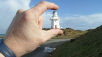 Another lighthouse safely positioned, on the southernmost point this time