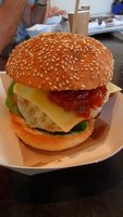The most awesome breakfast burger!
