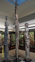 Traditional totem poles