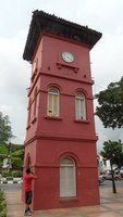 The old dutch clocktower