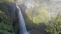 The falls in all their glory