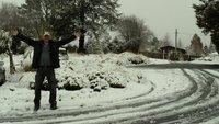 Tongariro snow