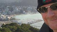 The Fool atop Mt Victoria overlooking Wellington