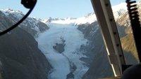 Franz Josef glacier from the chopper