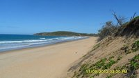 The busy beach at Agnes Water!!