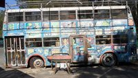The old Art Factory bus remains