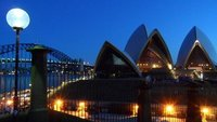 Pre-dawn sighting of the iconic Opera House