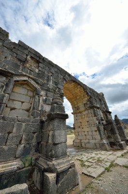 The Triumphal Arch, Volubilis