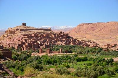 A view of Ait Benhaddou