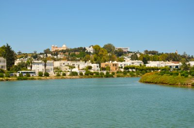 The ancient port of Carthage
