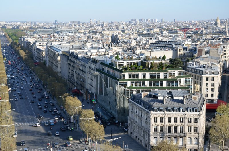 The orderly streets of Paris