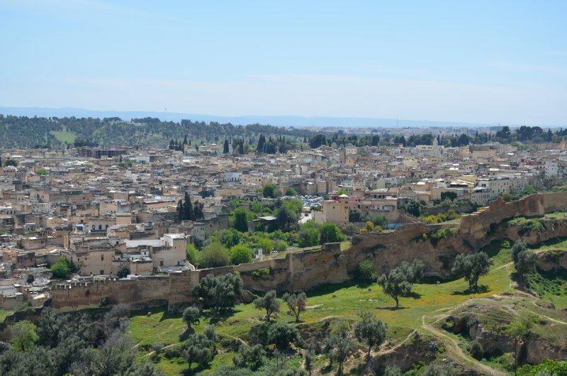 Overlooking the medina