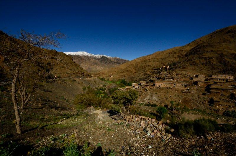 Looking back at Col du Tichka