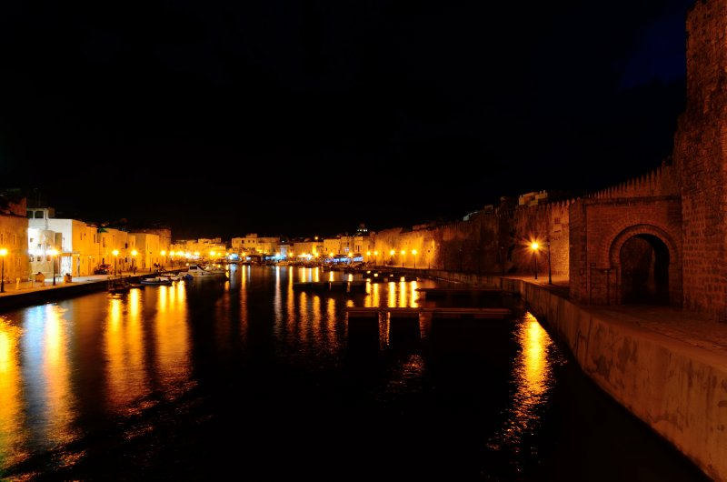 Bizerte by night.