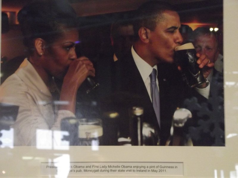 Obamas and Guinness!
