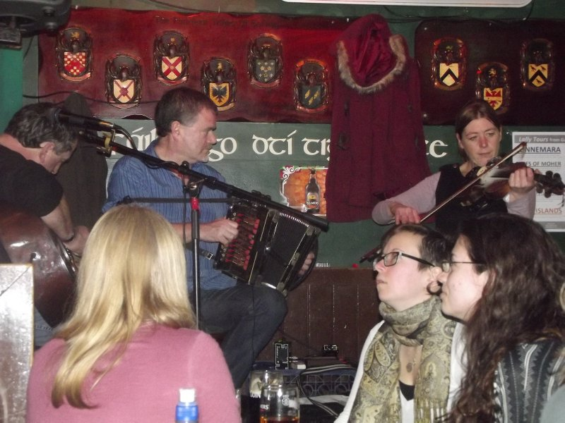 Trad in an Old Man's Pub