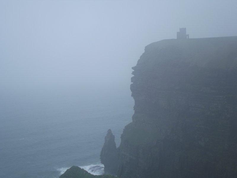 Castle Shrouded in Mist