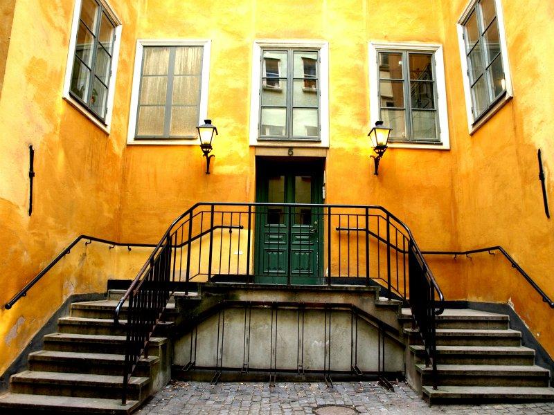 Hus i gamla stan