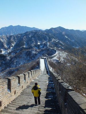 Me on the Great Wall at Mutianyu, China