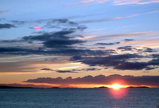 sunset beach, Nanaimo