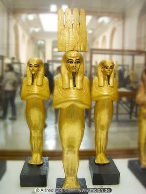 Some Parts of the Egyptian Museum