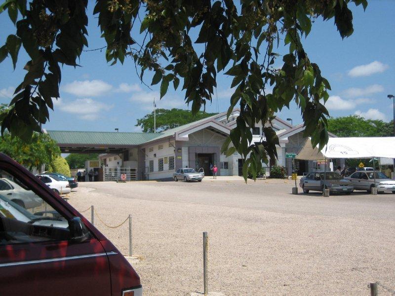 Border crossing, Belice