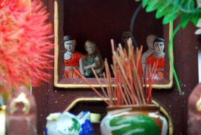 Buddhist Shrine in miniture